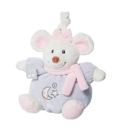 Mini-Ratinha-Musical-16-Cm-Rosa