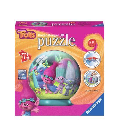 Trolls-Puzzleball-3D