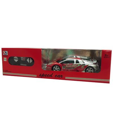 Coche-RC-Speed-Car-Gris-Rojo-Escala-1-24