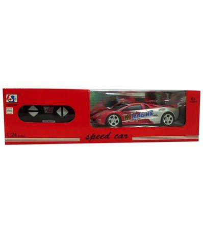 Coche-RC-Speed-Car-Rojo-Gris-Escala-1-24