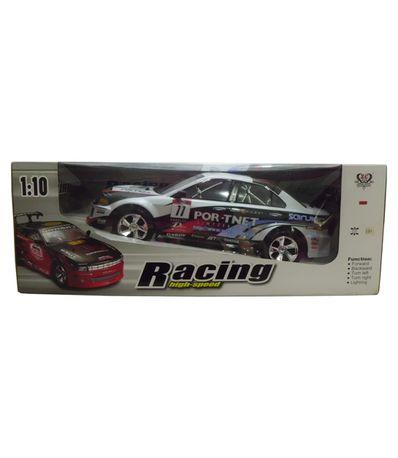 Coche-RC-Racing-DTM-Gris-Negro-Escala-1-10