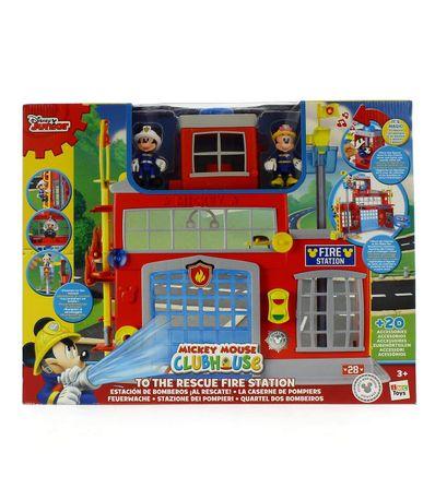Mickey-Estacion-de-Bomberos
