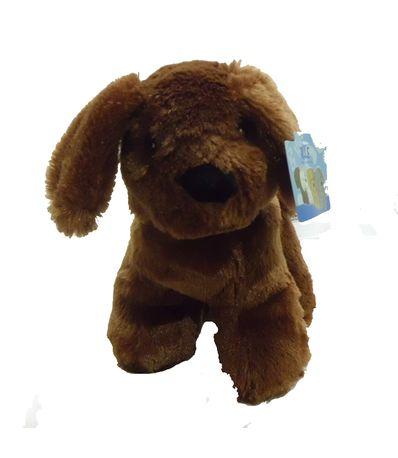 Dark-Brown-Dog-Plush-hondje