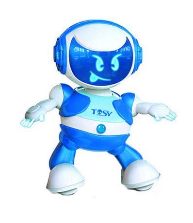 Robot-Bailarin-Azul-Party-Bot