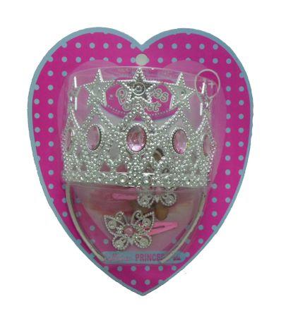 Corona-Princesa-Rosa