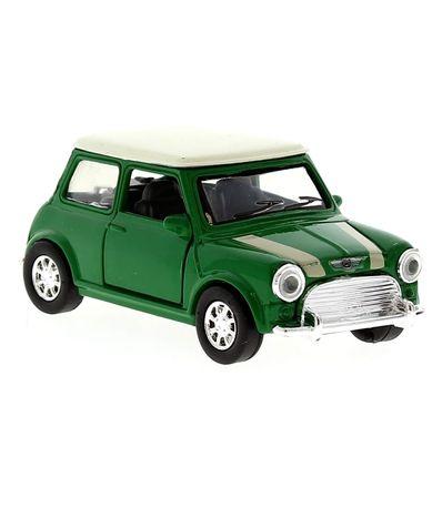 Carro-diminuto-escala-Vintage-Mini-Cooper-verde-01-32