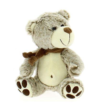Teddy-Bear-Com-Lenco-20-centimetros-Brown