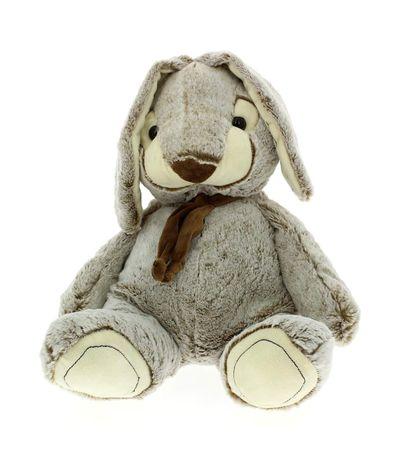 Peluche-Conejo-40cm-Gris