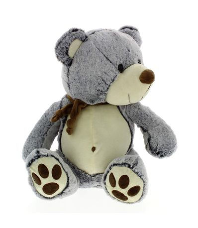 Urso-de-peluche-com-lenco-escuro-40-centimetros