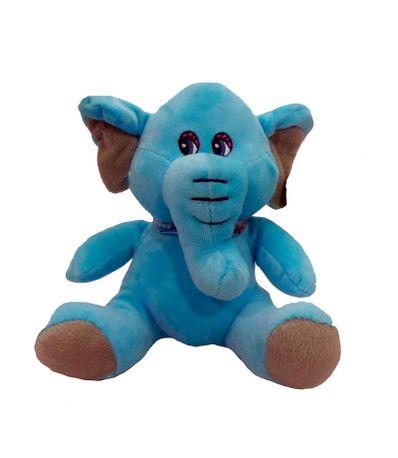Peluche-Elefante-Azul-20-cm