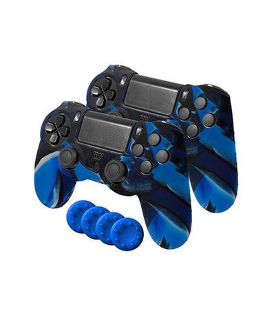 Gamer-Dual-Kit-2-Fundas-Silicona---4-Grips