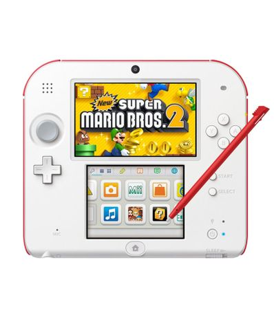 Consola-2Ds-Blanco-Rojo---New-Super-Mario-Bros-2