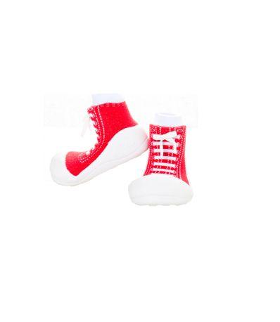 Sapato-Primeiros-Passos-Sneaker-Vermelho-T225
