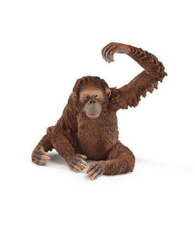 Figura-orangotango-femea