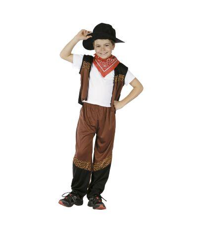 Disfarce-de-Vaqueiro-Infantil-Tamanho-4-6-Anos