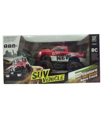 Coche-RC-Pick-Up-Rojo-Escala-1-14
