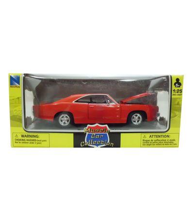 Carro-diminuto-Pontiac-classico-Red-1-24-americano