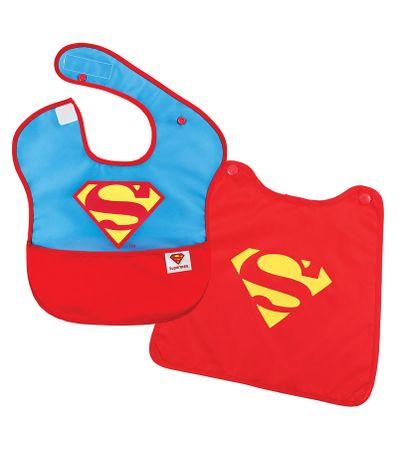 Babero-con-capa-Superman