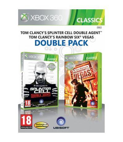 Splinter-Cell-Double-Agent---Rainbow-Six-Vegas-XBOX-360