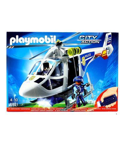 Playmobil-City-Action-Helicoptero-de-Policia-con-Luces-LED