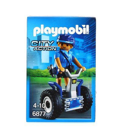 Playmobil-Mulher-policia-com-Balance-Racer