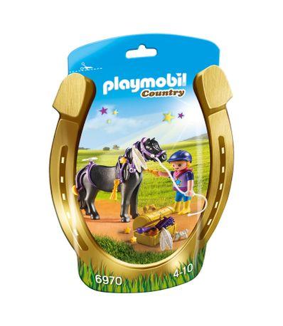 Playmobil-Amazona-con-Poni-y-Estrellas