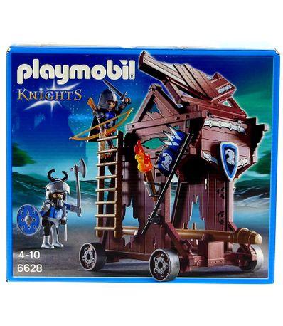 Playmobil-Knights-Torre-de-Ataque-de-los-Caballeros-del-Halcon
