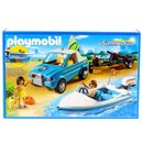 Playmobil-Summer-Fun-Pick-Up-con-Lancha