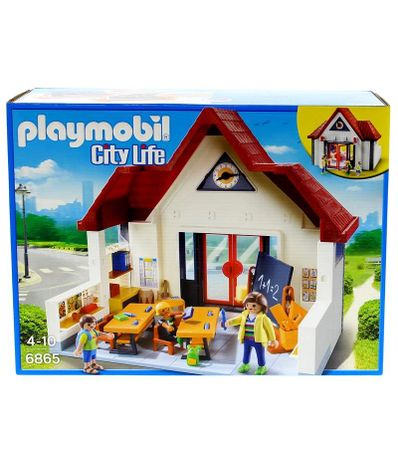 Playmobil-City-Life-Escola