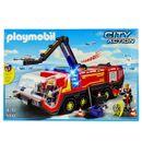 Playmobil-Camion-de-Bomberos-Aeropuerto
