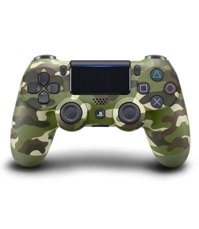Mando-Dualshock-4-Verde-Camouflage-Edicion-Nueva