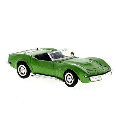 Miniatura-Escala-carro-01-43-Chevrolet-Corvette-1969