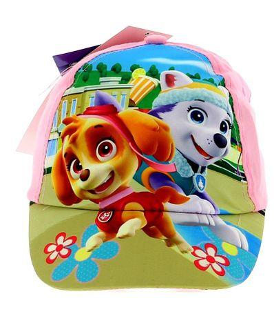 Patrulla-Canina-Niña-Gorra-Infantil-Rosa