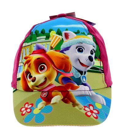 Patrulla-Canina-Niña-Gorra-Infantil-Lila