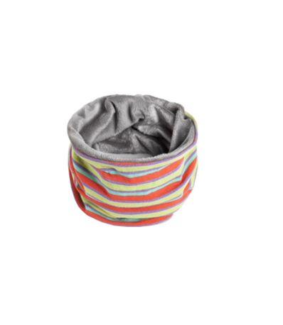 Braga-polar-para-el-cuello-Rayas-Multicolor