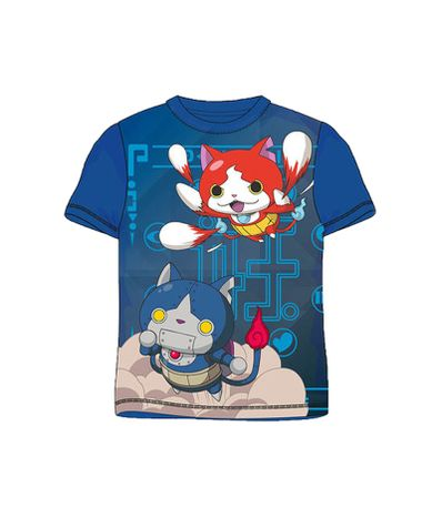 Yo-Kai-Watch-Camiseta-Azul