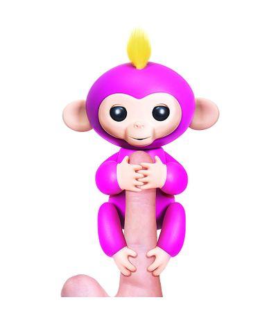 Fingerlings-Bebe-Mono-Rosa