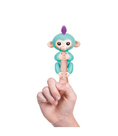 Fingerlings-Bebe-Mono-Turquesa