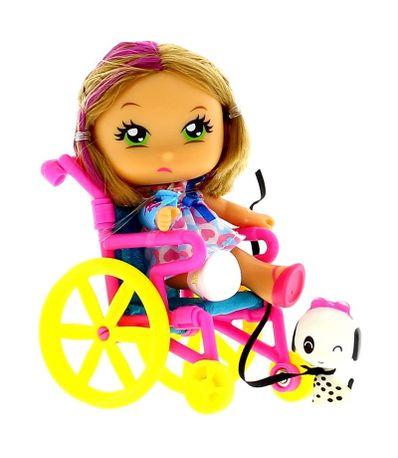 As-Barriguitas-Menina-Cadeira--de-Rodas