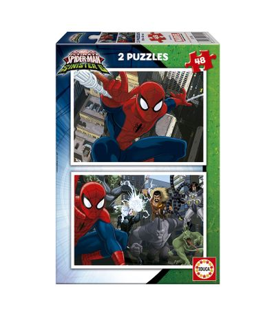 Spiderman-Puzzles-2x48-Piezas
