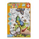 Puzzle-300-Piezas-Colouring-Mariposas