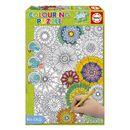 Puzzle-300-Piezas-Colouring-Flores