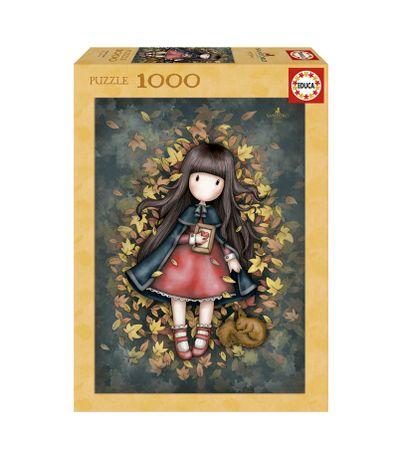 Gorjuss-Puzzle-Folhas-de-Outono-de-1000-Pecas