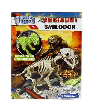 Arjeojugando-Smilodon