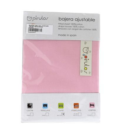 Sabana-bajera-ajustable-cuna-60x120-Rosa