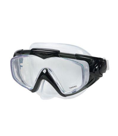 Oculos-para-Mergulhar-Negros-de-Silicone