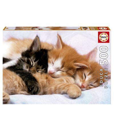 Puzzle-Gatitos-Durmiendo-de-500-Piezas