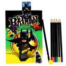 Batman-Lego-conjunto-de-papelaria-com-a-Agenda