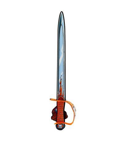 Guerreiros-de-laranja-suave-pirata-Espada
