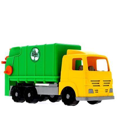 Camion-de-Basura-Verde